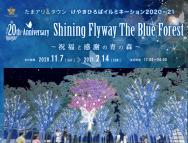 [埼玉のその他イベント]たまアリ△タウンけやきひろばイルミネーション 2020-21 20th Anniversary Shining Flyway The Blue Forest