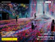 [東京のその他イベント]森ビル デジタルアート ミュージアム
