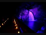 [三重のその他イベント]赤目渓谷「幽玄の竹灯」渓谷ライトアップ